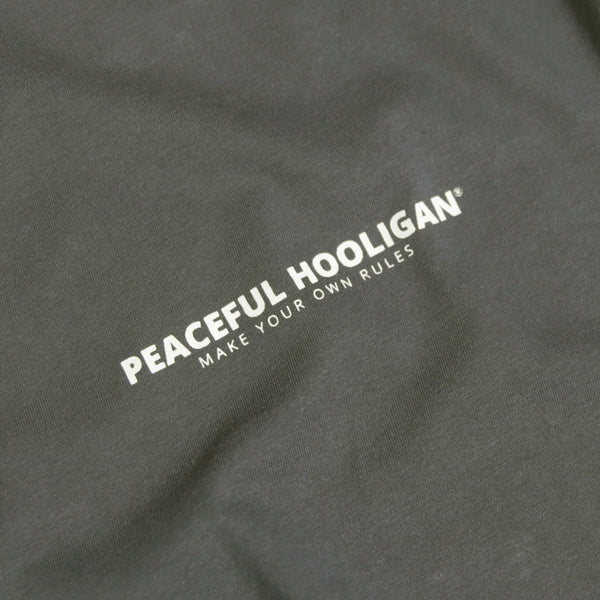 Myor T-Shirt Dark Olive - Peaceful Hooligan