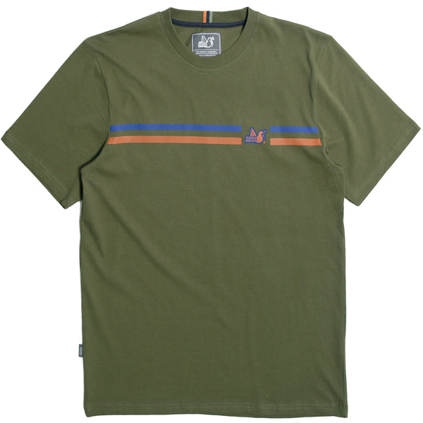 Maddison T-Shirt Olive - Peaceful Hooligan