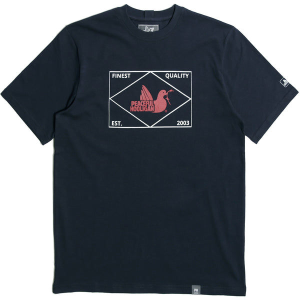 Match T-Shirt Navy - Peaceful Hooligan