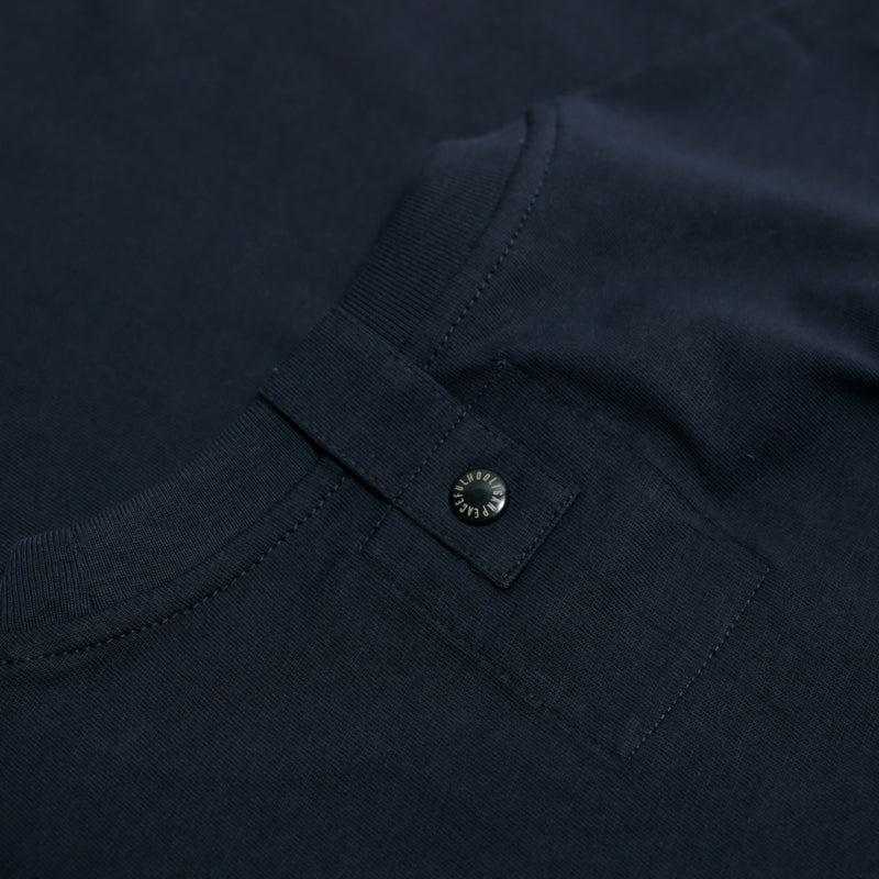 I.D T-Shirt Navy - Peaceful Hooligan