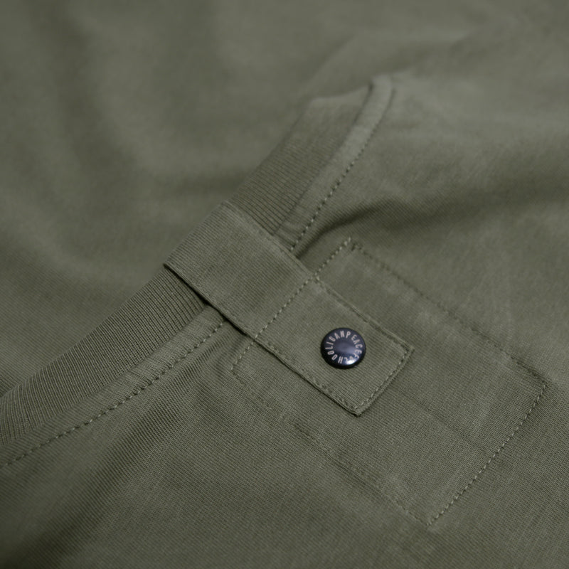 Stencil T-Shirt Olive - Peaceful Hooligan