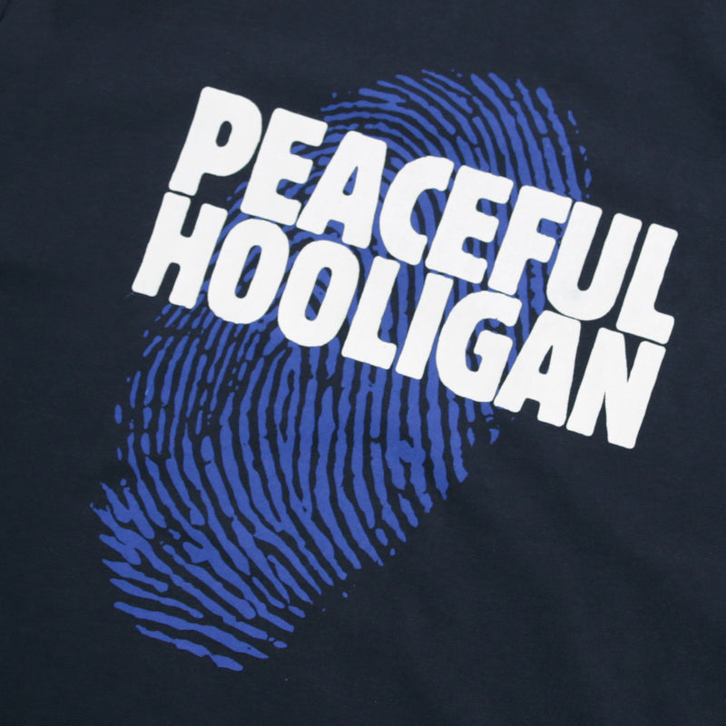Thumb T-Shirt Navy - Peaceful Hooligan