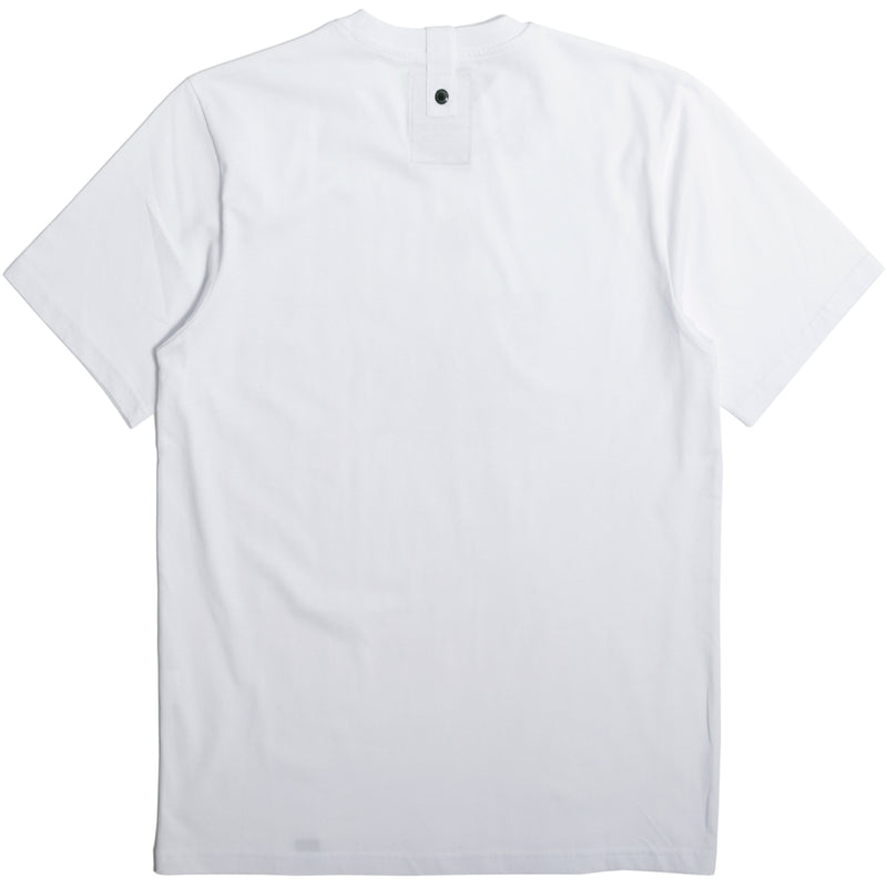 Outline T-Shirt White - Peaceful Hooligan