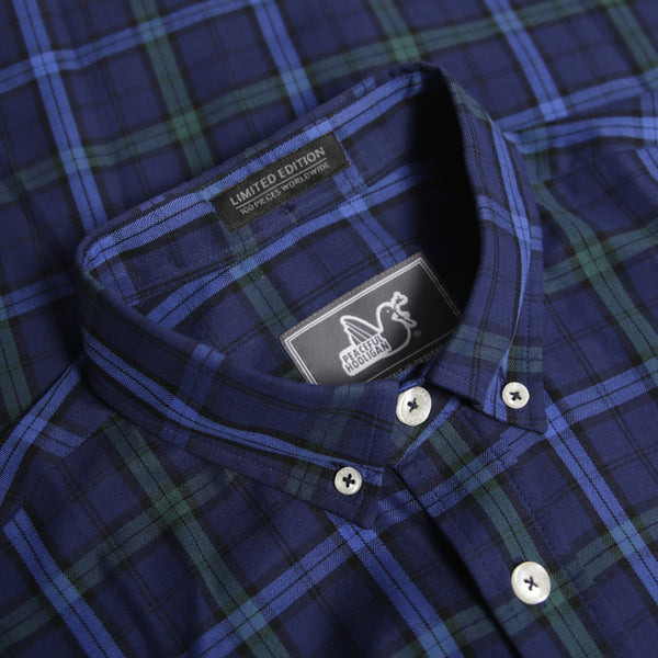 Wildman Shirt Navy Check