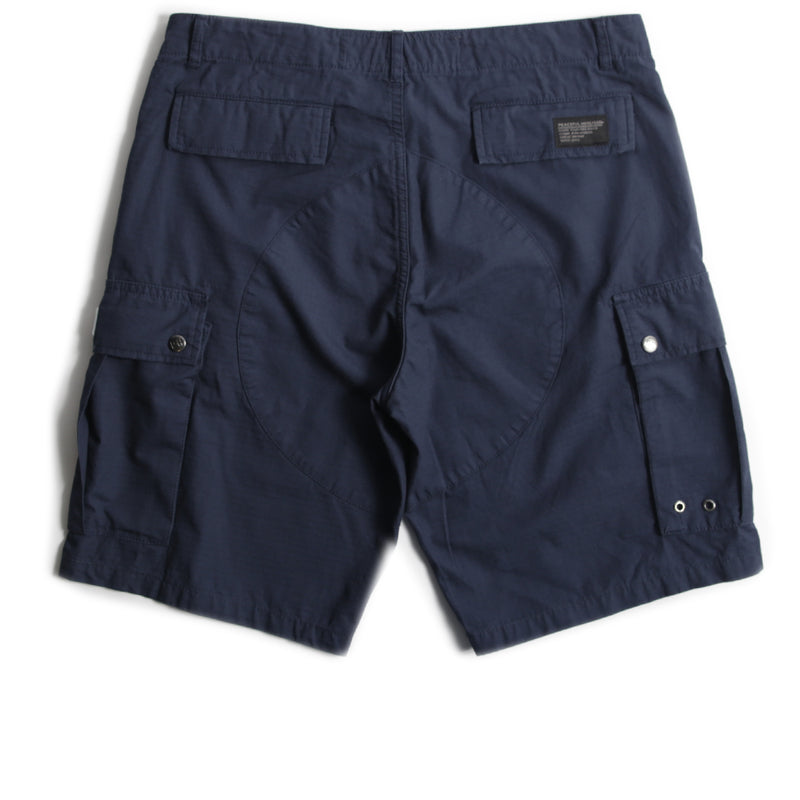Container Shorts Navy - Peaceful Hooligan