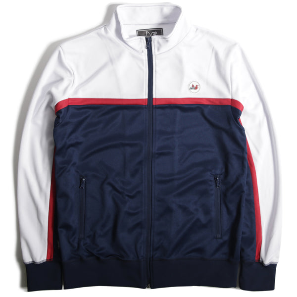 Deacon Track Top Navy