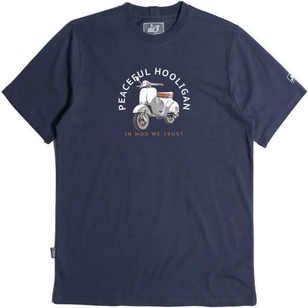 Scooter T-Shirt Navy