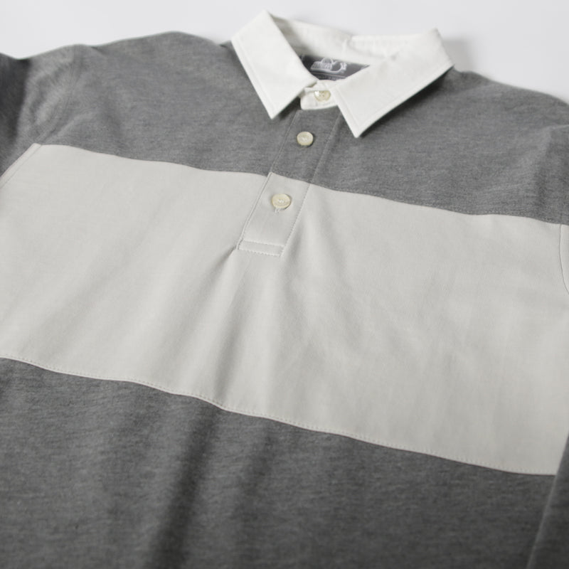Stuart Polo Marl Grey