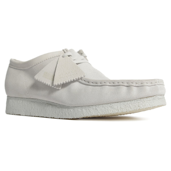 Wallabee White Chalky Suede