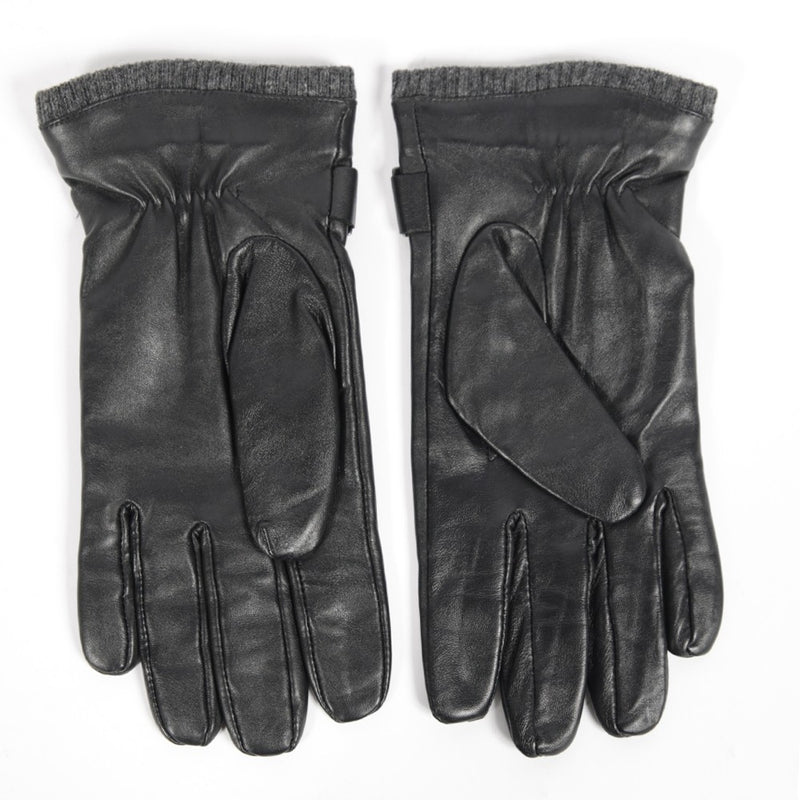 Leather Gloves Black - Peaceful Hooligan