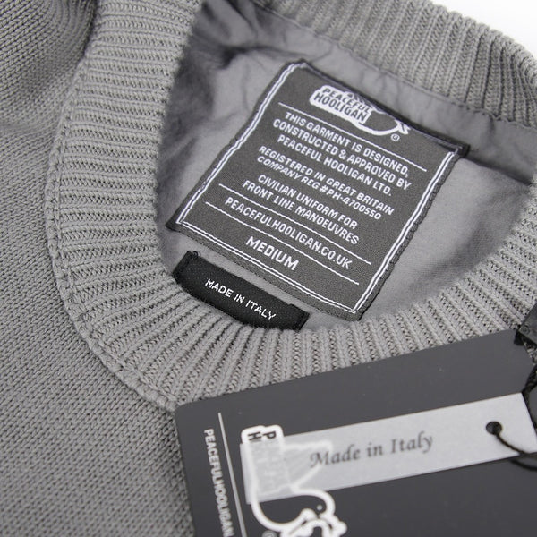 Shotgun Knitwear Charcoal - Peaceful Hooligan