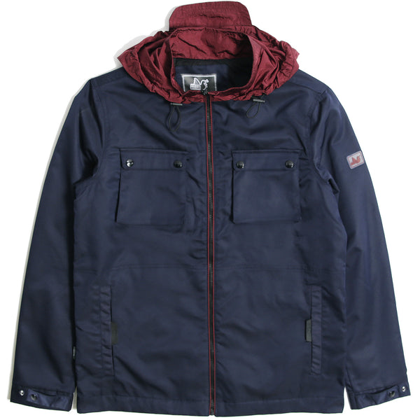 Dobbs Hoodie Navy - Peaceful Hooligan
