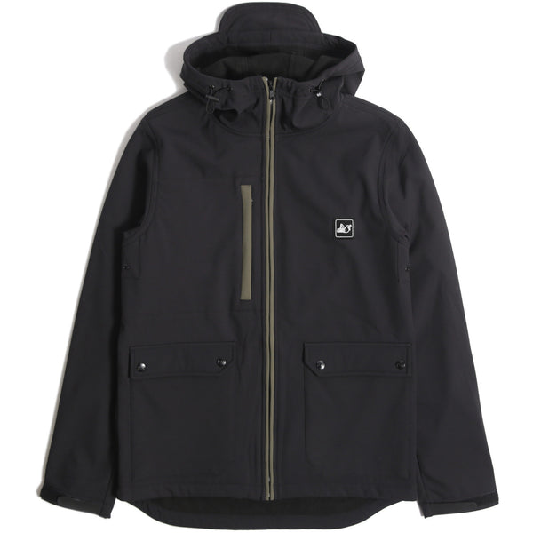 Skyline Jacket Black - Peaceful Hooligan