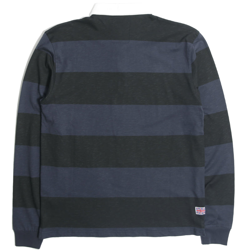 Shelton LS Shirt Navy - Peaceful Hooligan