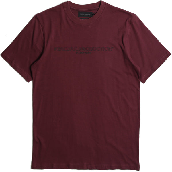 Fix Logo T-Shirt Zinfandel