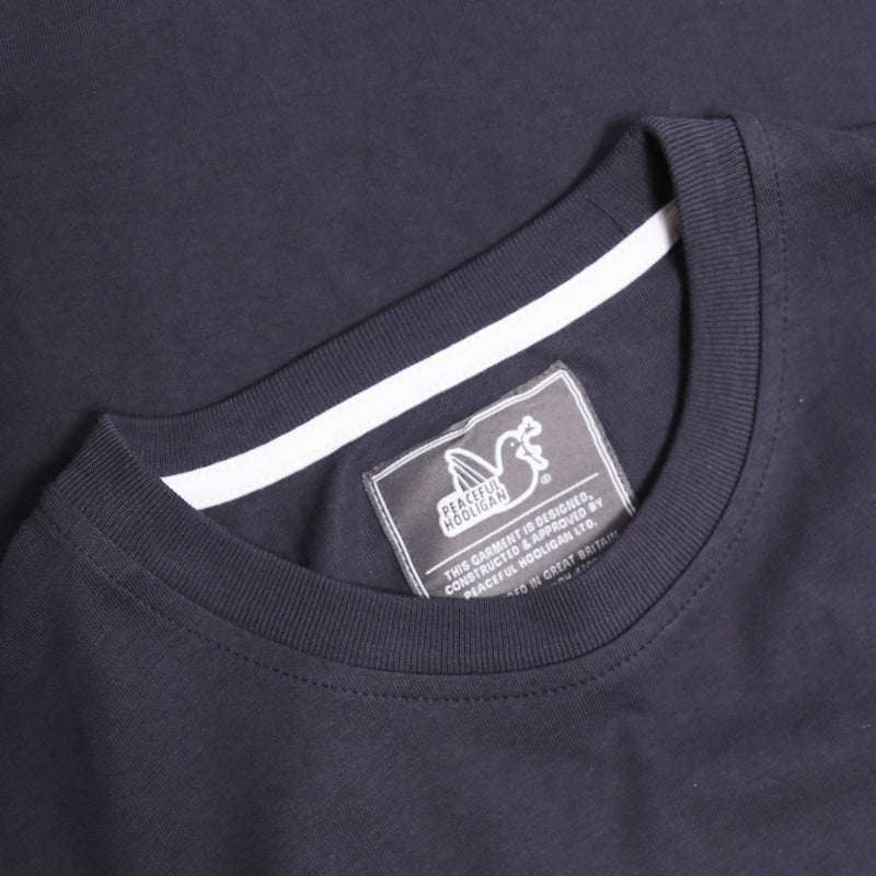 Cathedral T-Shirt Navy - Peaceful Hooligan