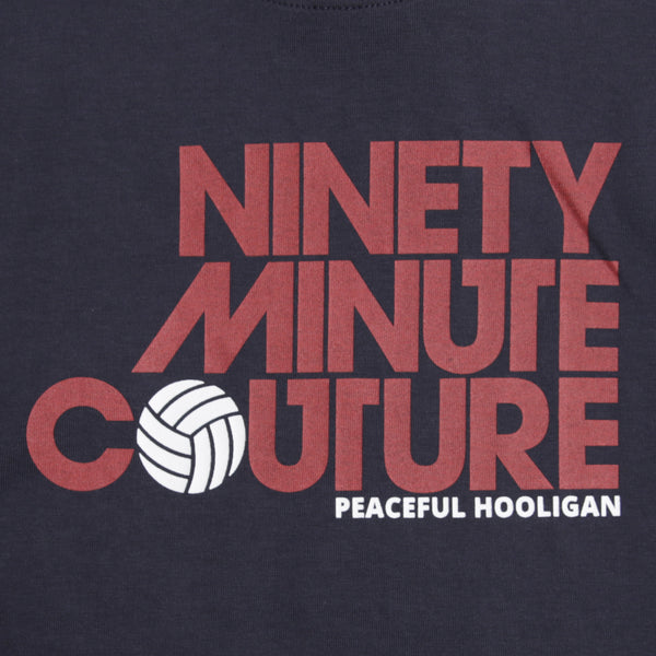 Ninety Minute T-Shirt Navy - Peaceful Hooligan
