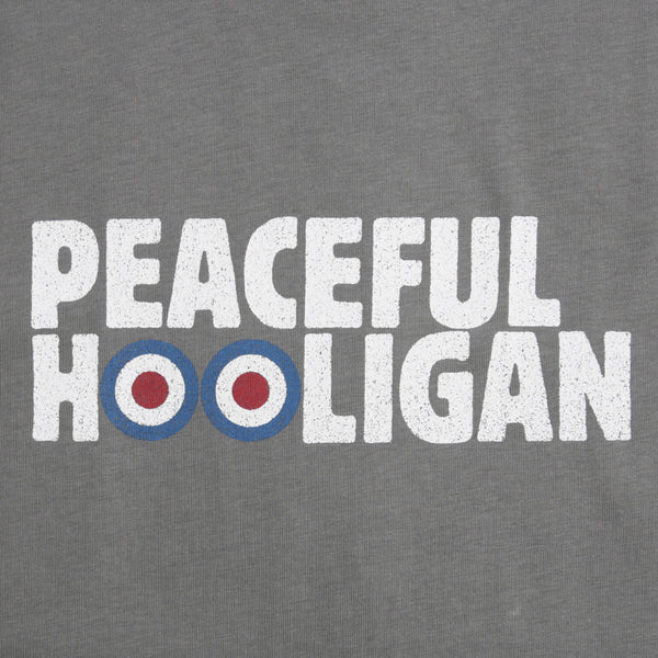 Target T-Shirt Steel - Peaceful Hooligan
