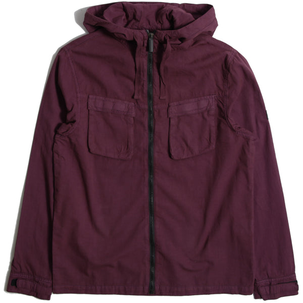 Hood Shirt Jacket Zinfandel - Peaceful Hooligan