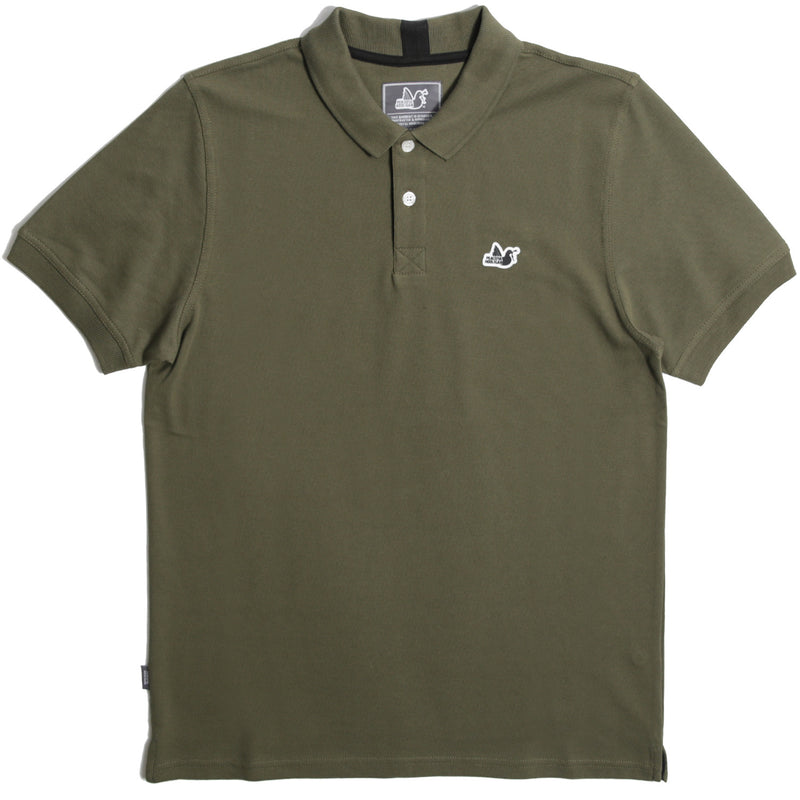 Steward Polo Dark Olive - Peaceful Hooligan