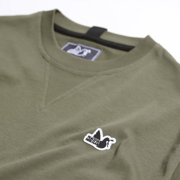 Sterling T-Shirt Dark Olive - Peaceful Hooligan