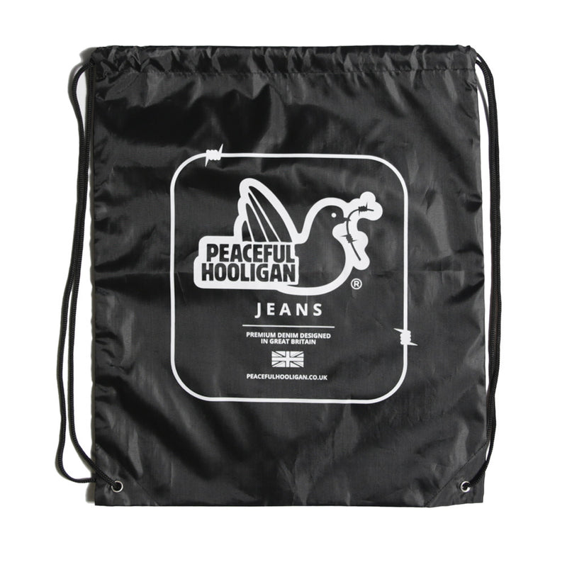 Jeans Gym Sack Black - Peaceful Hooligan