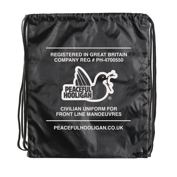 Standard Gym Sack Black - Peaceful Hooligan