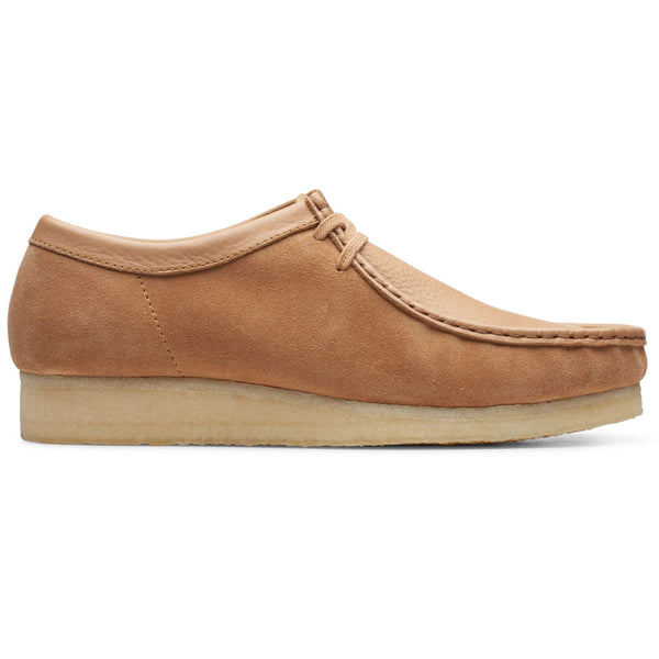 Clarks Originals Wallabee Shoes Light Tan - Peaceful Hooligan