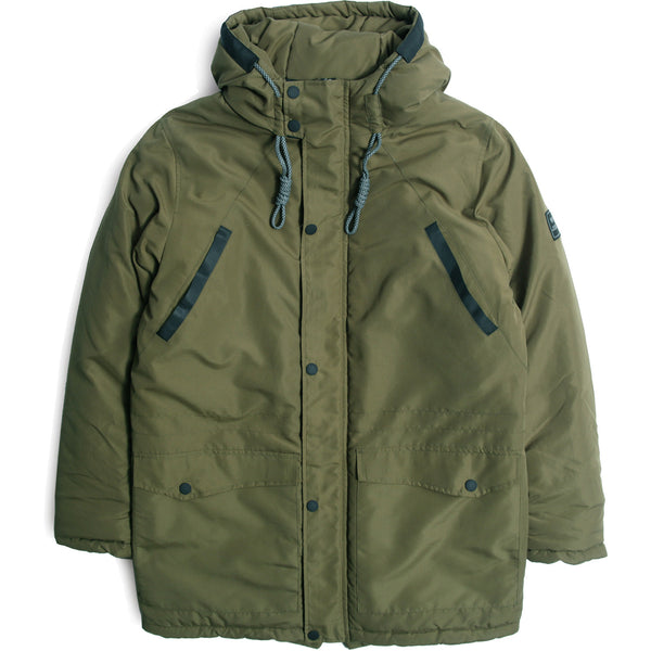 Awaydays Winter Jacket Deep Forest - Peaceful Hooligan