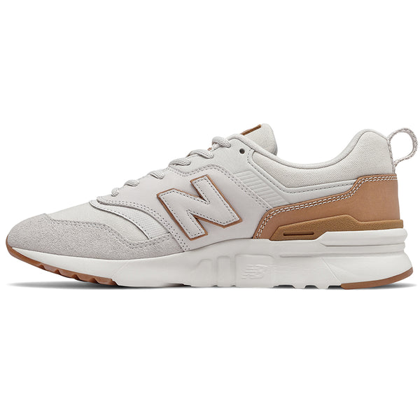 New Balance CM997HAF Trainers White - Peaceful Hooligan