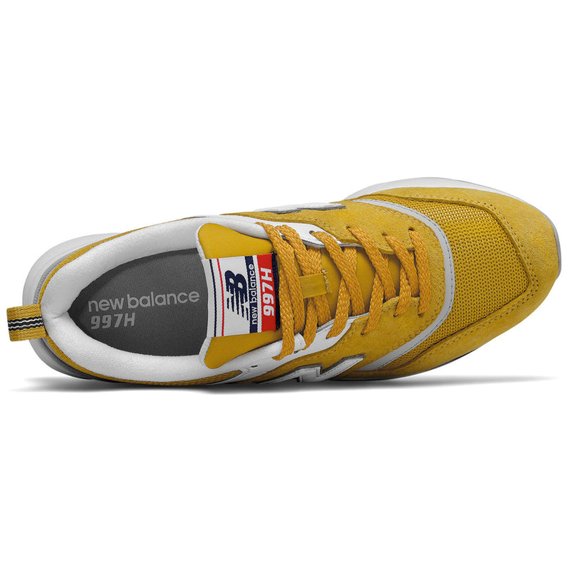 New Balance CW997HAF Trainers Mustard - Peaceful Hooligan