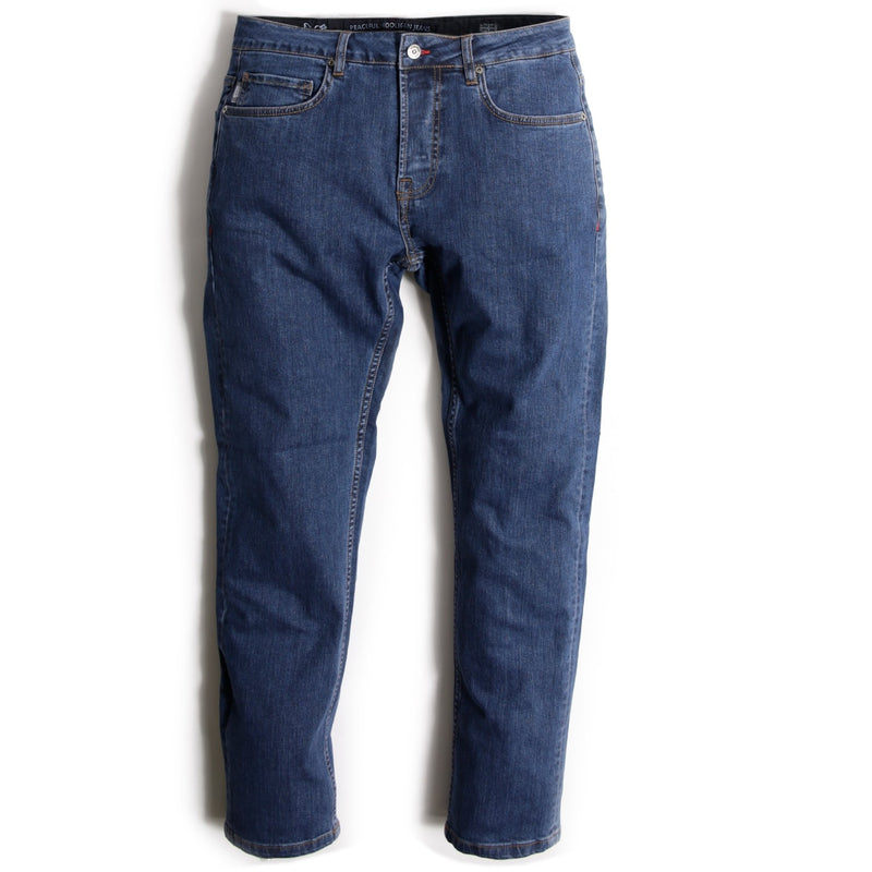 Regular Fit Jeans Mid Wash - Peaceful Hooligan