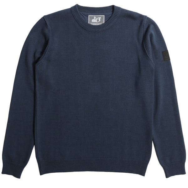 Shotgun Knitwear - Navy - Peaceful Hooligan
