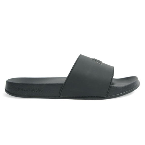 Pool Slides Black - Peaceful Hooligan