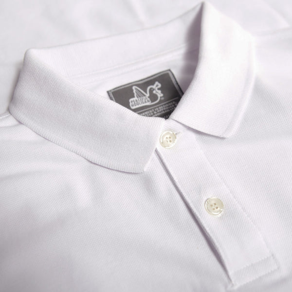 Quinn Polo White - Peaceful Hooligan