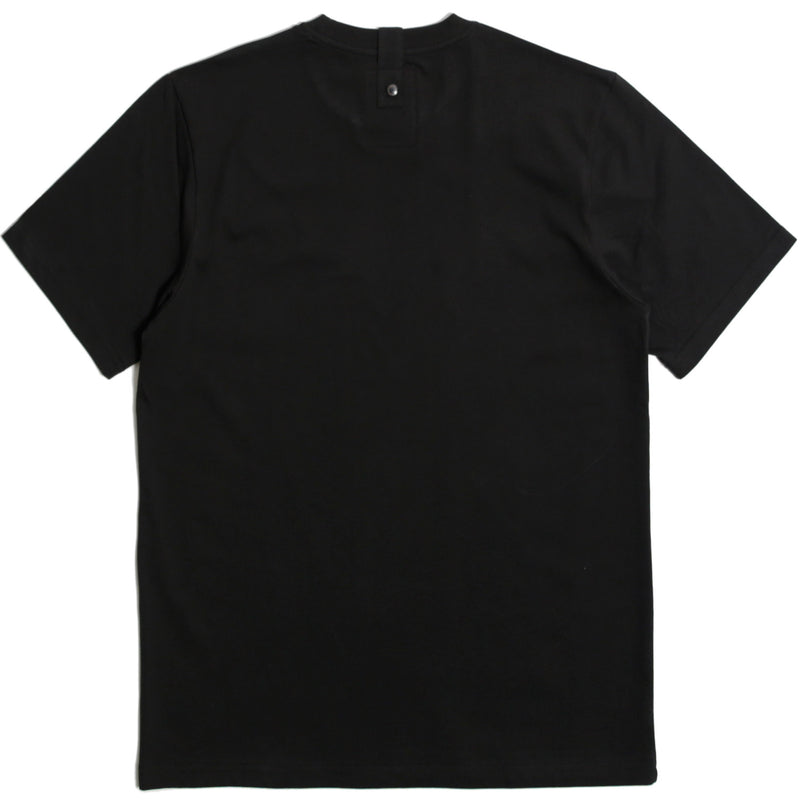 Outline T-Shirt Black - Peaceful Hooligan