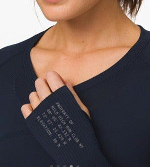"Lululemon ""Home Base"" Long Sleeve"