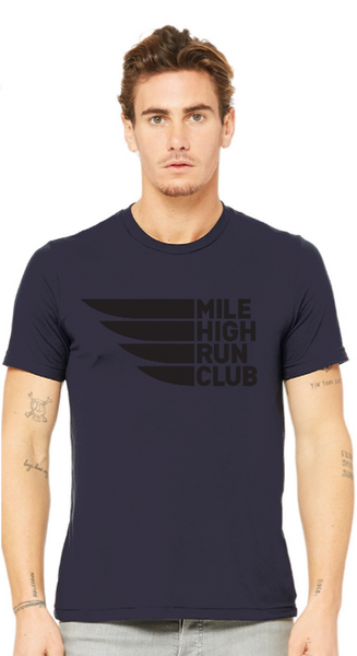 Mile High Navy Tee
