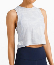 Load image into Gallery viewer, Lululemon Camo Cropped Tank