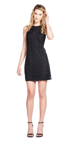Annie Griffin Collection Nellie Black Crochet Dress