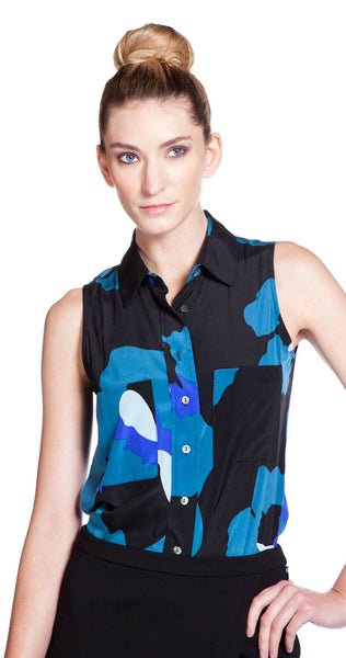 Annie Griffin Collection Robby Top in Pansy