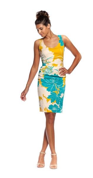 Tracy Reese Crepe Floral Print Dress