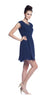 Rebecca Taylor Beaded Easy Dress in Moon