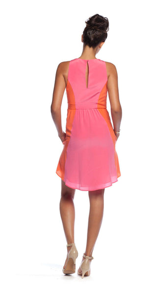 Annie Griffin Collection Cailan Dress in Hot Pink