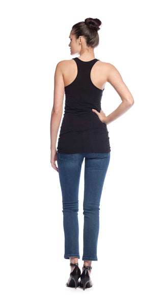 Splendid Racer Back Layer Tank in Black
