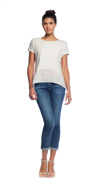 Velvet by Graham & Spencer Kierna Contrast Tee