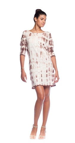 Velvet by Graham & Spencer Linen Tie Dye Dress