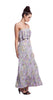 Tbags Los Angeles Layered Ruffle Maxi Dress