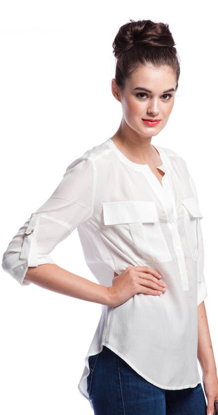 Trina Turk Jemison Top in White
