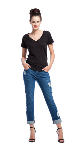 James Jeans Neo Beau Boyfriend in Genevieve